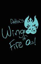 Wings of Fire ocs by Deltaknightart