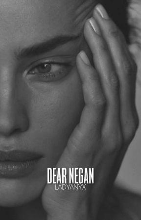 (I) dear negan ━ t. walking dead by ladyanyx