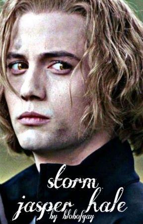 storm ◇ jasper hale ◇ by blobofgay