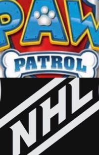 PAW Patrol's NHL Surprise cover