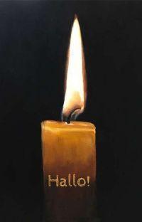 Vom Leben einer Kerzenflamme  cover