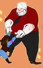 (bara sans, Red, Horror, And Blue x child reader) by lilglitch666
