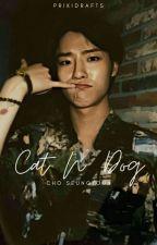 ❝Cat n' Dog   Cho Seungyoun❞ by prikidrafts