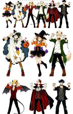 My Halloween Academia by Starling_Todoroki