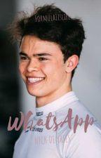 WhatsApp ft. Nyck de Vries by formula1islife