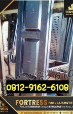 0812-9162-6109 (FORTRESS), distributor pintu garasi wina di semarang,depok by pintugarasi06