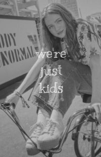 we're just kids  | bill denbrough  { book one } cover