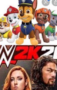 PAW Patrol vs Dominick: WWE 2K20 Style. cover