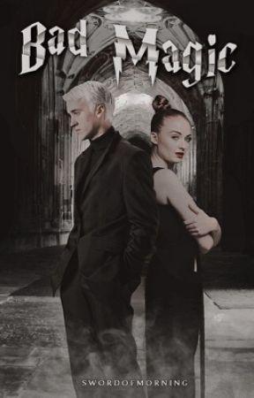 BAD MAGIC  ━  Draco Malfoy by weirwitch