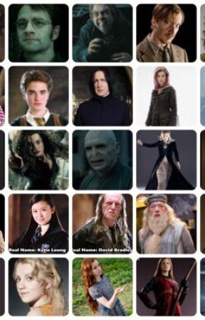 Steckbriefe Der Harry Potter Figuren Harry Wattpad