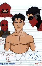 red hood and Dami the true bond by Jaydami21