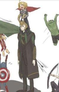 Velký problém malých Avengerů cover