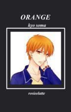 kyo soma   Orange  by rosie_ackermann