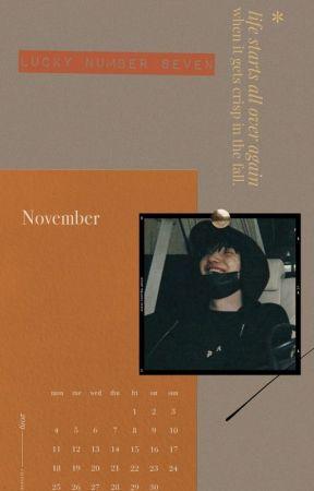 lucky number seven™  BTS X Reader by HiddenFlowersinthemi