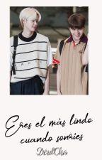 """""""Eres el más lindo cuando sonríes""""  Kang Minhee x Cha Junho [Deulcha/JunMini] by X1_DeulCha"""