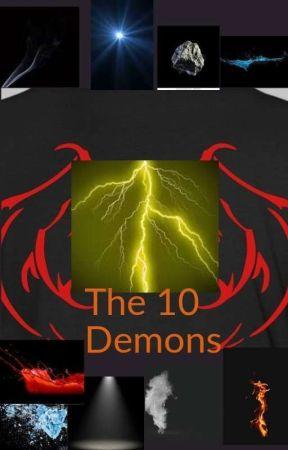 The 10 Demons by kikiboi