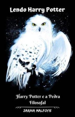 Lendo Harry Potter by ZarinaMalfoy15