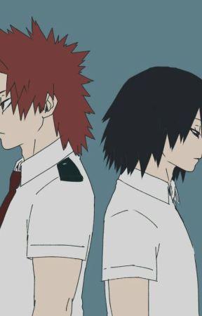 """Coward."" kiribaku by Golden_Snowflake200"
