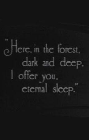 """ ETERNAL SLEEP "" by robin-minteli"