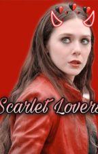 Scarlet Lovers • Wanda Maximoff  by leandra_nealon