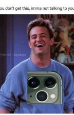 Chandler Bing X Reader Oneshots by dynastydecapitatedd