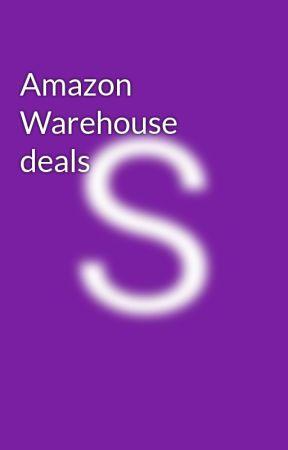 Amazon Warehouse deals by sandyrim