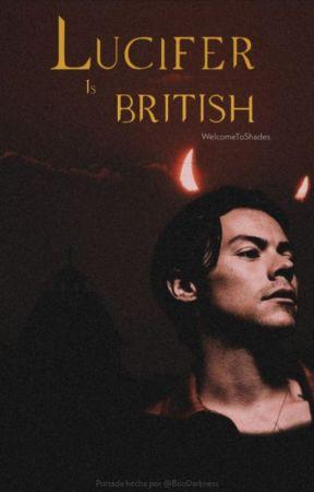 Lucifer is British by WelcomeToShades