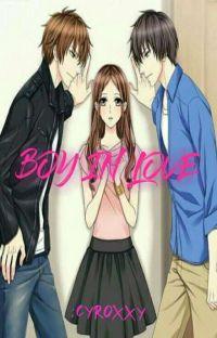 Boy in love cover