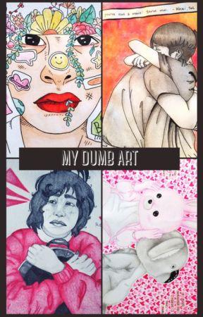 my DUMB art by -BEAMER_BOY-
