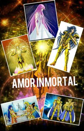 Amor inmortal ( shaka de virgo, saga de geminis  x athena )   by azuziza