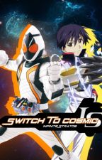 Switch To Cosmic (Kamen Rider Fourze X Infinite Stratos Crossover) by azurilquill