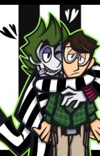 Not Yet •A BeetleJuice X Adam Fanfic• by xiaoscringecomp