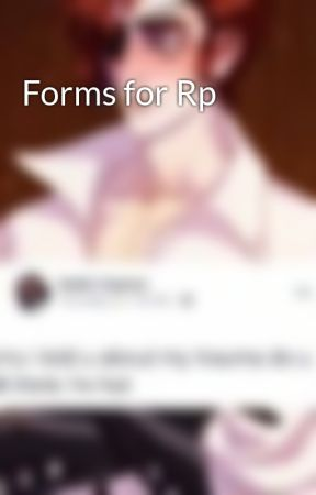 Forms for Rp  by wolfiehugs
