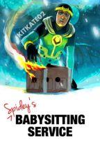 Spidey's Babysitting Service by Kitkate02