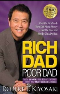 Rich Dad Poor Dad By Robert T. Kyosaki✔️ cover