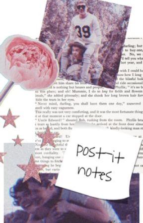 post-it notes / ddlb by ezroar