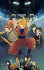 Goku and the Olympians by MitchW565