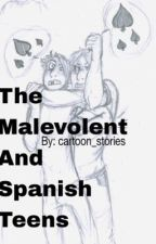The Malevolent and Spanish teens by Cartoon_stories