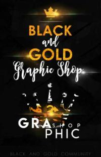 Black And Gold Graphic Shop cover