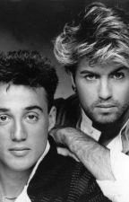 Pressing the record button on pop history  - Wham! George, Andrew, Dave and Me! by paulmex