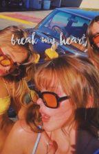 BREAK MY HEART | alejandro rosario by XONEEDY
