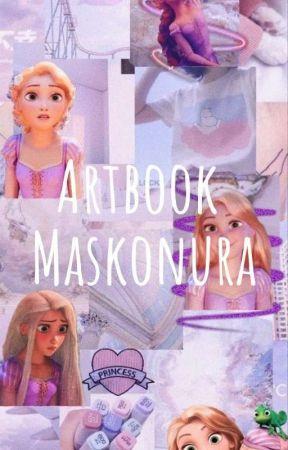 Artbook Maskonura by -_VxGGie