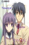 Pinceladas de violeta - Clannad Fanfic (KYOU Y TOMOYA) cover