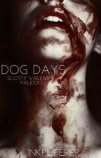 dog days ━ scotty valens x male!oc!  by inkpilferer