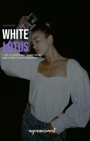White Lotus by myonnaisement