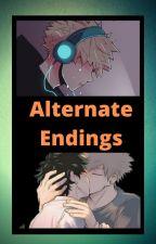 Breaking Down Walls (Bakudeku) Alternate Endings by Astranger015