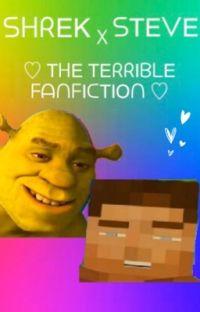 Shrek X Minecraft Steve cover