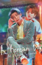 A Korean Boy at a Chinese Restaurant | A Namjin Fanfiction by beigedecore