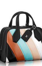 LOUIS VUITTON Multicolor Striped Leather Dora BB Bag by divyagtr