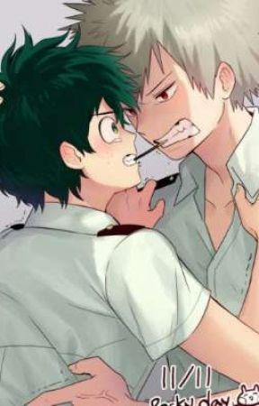 My Hero Academia {Izuku x Katsuki}  by kyluaa